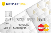 Komplett Bank: Kredittkort